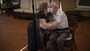Una de les fotografies fetes per Emilio Morenatti durant la pandèmia ara seleccionades i guardonades pels premi Pulitzer (Emilio Morenatti)