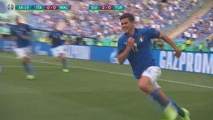 Resum Itàlia-País de Gal·les (1-0)