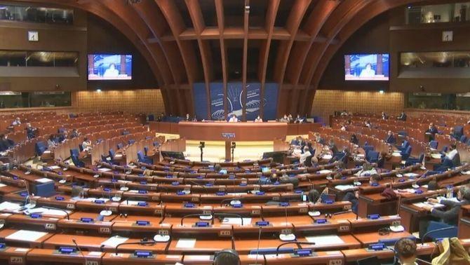 Assemblea del Consell d'Europa, aquest dilluns a Estrasburg