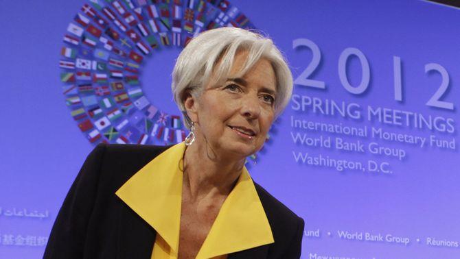 La directora de l'FMI, Christine Lagarde, en una imatge recent (Foto: Reuters)