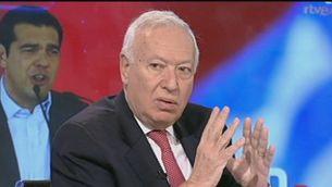 Margallo diu que amb els diners prestats a Grècia es podrien apujar un 38% les pensions