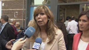 """Sánchez-Camacho diu que el full de ruta és """"paper mullat"""""""
