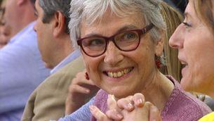 Muriel Casals al Concert per la Llibertat