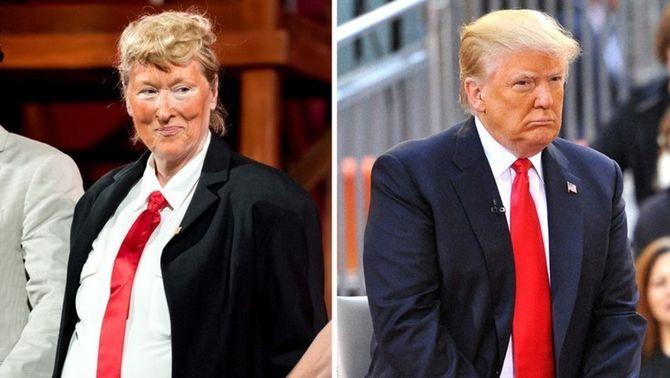Meryl Streep parodia Donald Trump per mostrar públicament el seu suport a Hillary Clinton