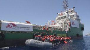 MSF renuncia als fons europeus per la gestió de la UE de la crisi dels refugiats