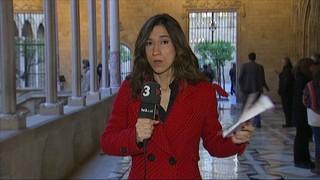 Imatge de:Mas, Ortega i Rigau reben mostres de suport des del palau de la Generalitat fins a la seu del TSJC