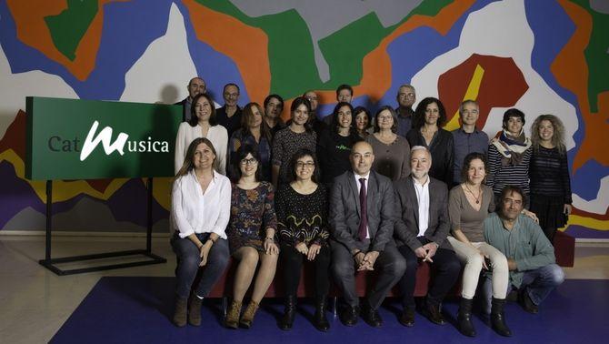 Catalunya Música rep el Reconeixement a la Indústria dels Premis Enderrock 2018