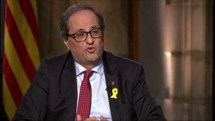 Torra anuncia a TV3 que aquesta setmana començarà la roda de contactes amb els grups parlamentaris