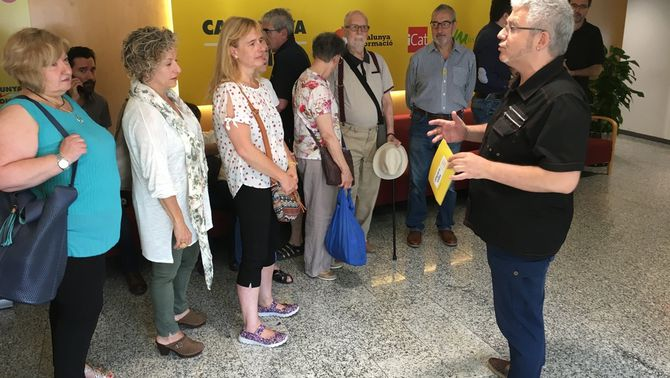 Arrenca la jornada de portes obertes dels 35 anys de Catalunya Ràdio amb totes les invitacions exhaurides