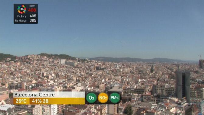 03, NO2, PM10, CO2: nova informació d'El temps de TV3