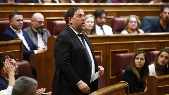 Junqueras no podrà anar a recollir l'acta ni jurar com a eurodiputat al Congrés