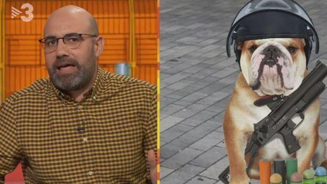 """La fiscalia investigarà """"Està passant"""" per un gag comparant els Mossos amb gossos"""