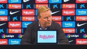 """Koeman: """"El VAR només entra en contra del Barça"""""""