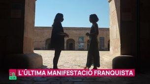 Planta baixa - L'última manifestació franquista
