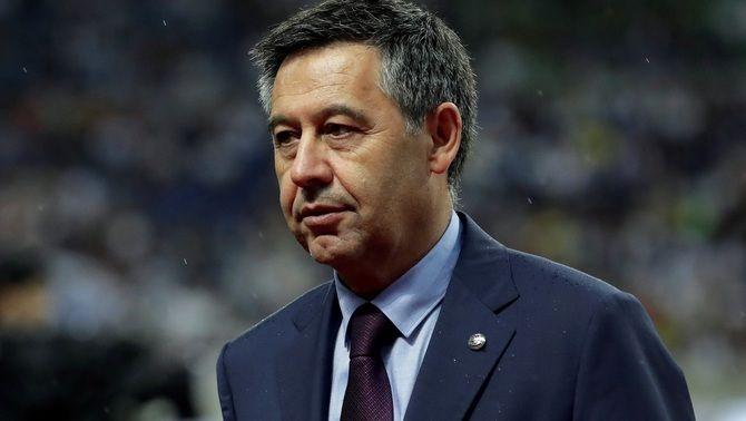 Josep Maria Bartomeu, expresident del Barça, en una imatge d'arxiu (EFE)