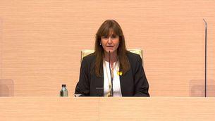 Laura Borràs, escollida presidenta del Parlament amb els vots de Junts i ERC i l'abstenció de la CUP-G