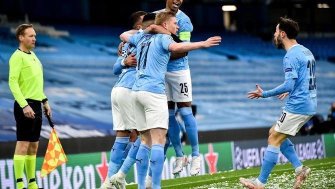 El Manchester City de Guardiola, primer finalista de la Champions (2-0)