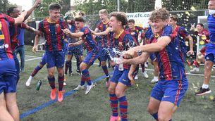 L'inesperat desenllaç que dona la Lliga al Barça juvenil i deixa l'Espanyol sense premi