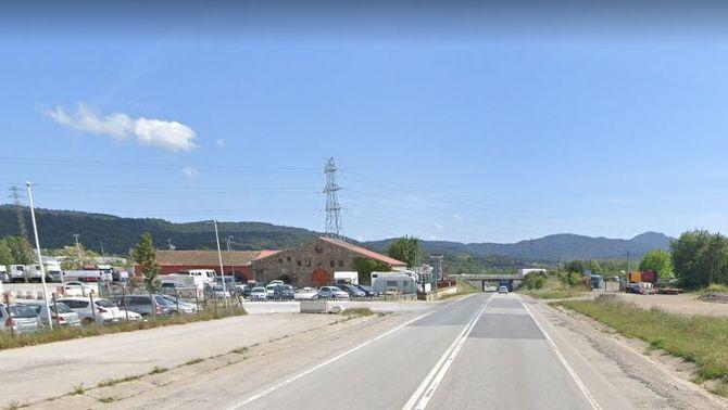 Mor un conductor de 27 anys en un xoc frontal a la Roca del Vallès