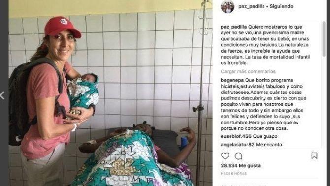 Instagram de Paz Padilla
