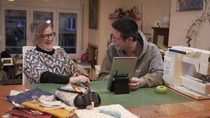 """Long Li Xue i Anna, una futura influencer del patchwork, a """"Canvi de xip"""""""