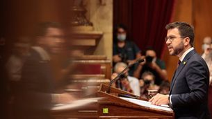 Aragonès, al debat de política general al Parlament