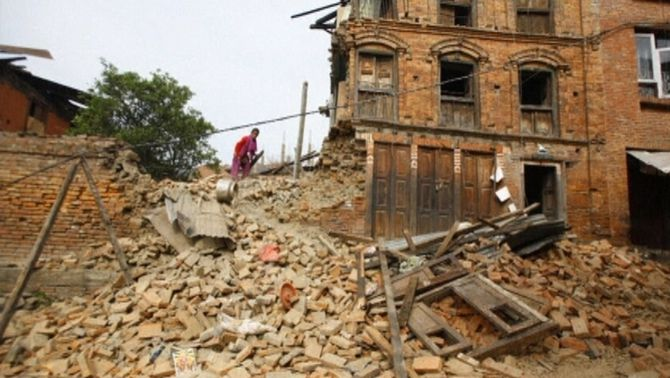 Els sismòlegs havien alertat del risc d'un terratrèmol al Nepal