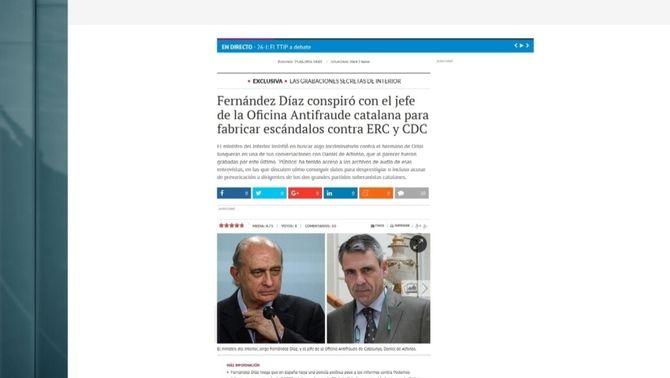 Sánchez, Iglesias i Rivera demanen dimissions arran de les converses entre Fernández Díaz i De Alfonso