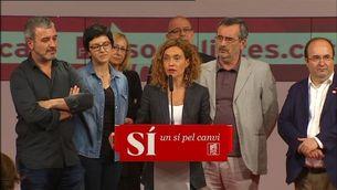 La candidata a les eleccions generals per Barcelona, Meritxell Batet