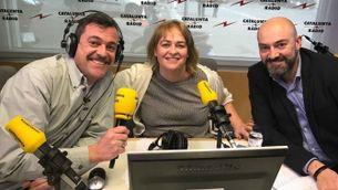 Santi Faro i Saül Gordillo amb Mariola Dinarès presenten #MésCatRàdio