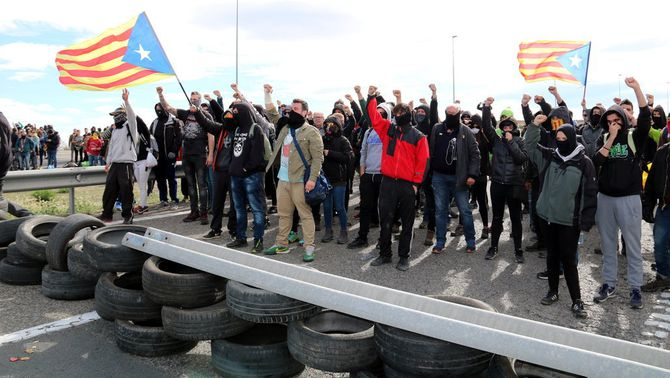 La fiscalia investigarà si hi ha rebel·lió en les protestes dels CDRs