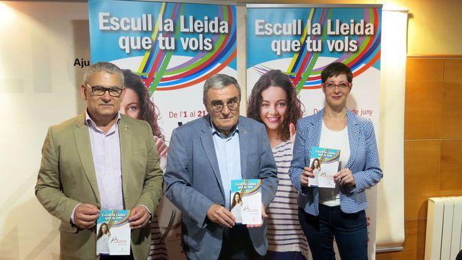 Els ciutadans de Lleida votaran entre 128 projectes per decidir inversions a la ciutat per valor d'un milió d'euros