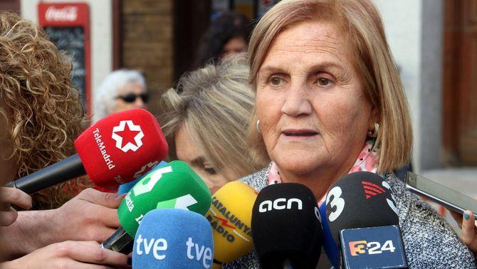 Núria de Gispert, disposada a renunciar a la Creu de Sant Jordi