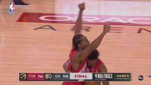 Els Toronto Raptors es coronen campions de l'NBA