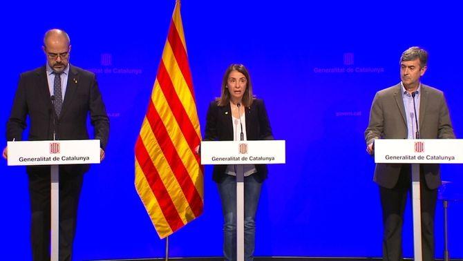 """El govern diu que """"l'estat d'alarma pot vulnerar les competències"""" de la Generalitat"""