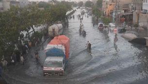 Vuit morts per les pluges monsòniques al Pakistan