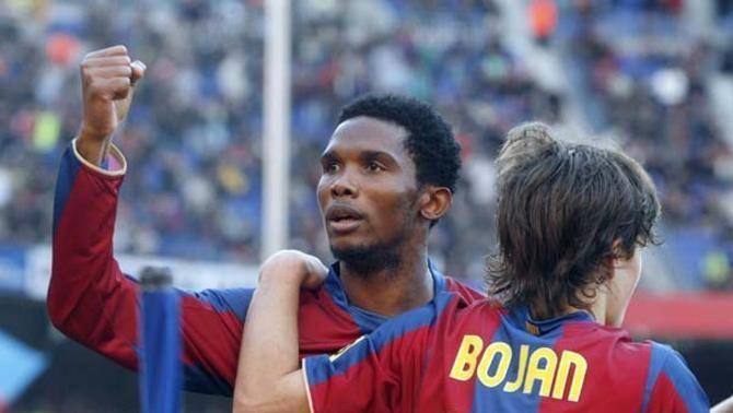 """Bojan: """"Si no hagués marcat, no sé què m'hagués fet l'Eto'o"""""""