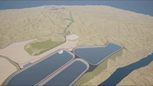 Projecte per construir a les Terres de l'Ebre el magatzem d'energia més gran del món