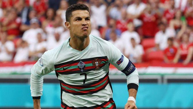 Portugal trenca la resistència d'Hongria als minuts finals amb doblet de Cristiano Ronaldo (0-3)