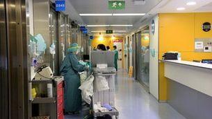 Una UCI a l'Hospital Vall d'Hebron