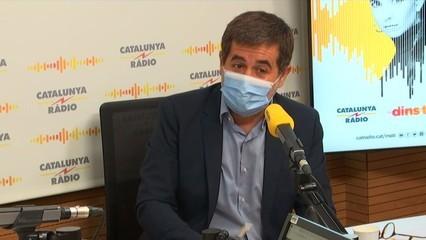 """Jordi Sànchez: """"No hem estat deslleials al president de la Generalitat"""""""
