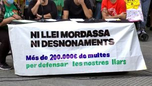 Llei mordassa i multes per frenar protestes antidesnonaments