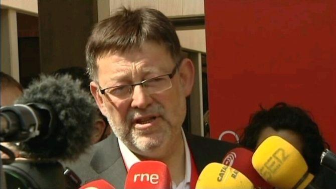 El secretari general dels socialistes valencians, Ximo Puig.
