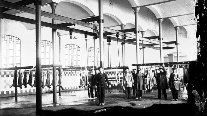 L'antic escorxador de Mataró es transforma en una biblioteca