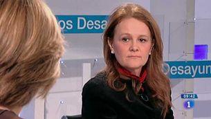 Montserrat Gomendio, secretària d'Estat d'Educació, a RTVE.