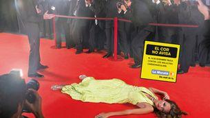 Cartell de La Marató 2007, dedicada a les malalties cardiovasculars