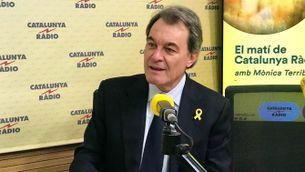Artur Mas als estudis de Catalunya Ràdio
