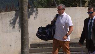 L'exsoci d'Urdangarín, Diego Torres, a la seva arribada al centre penitenciari de Brians 2