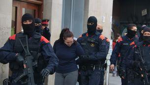 Els Mossos d'Esquadra han detingut almenys 55 persones (ACN)