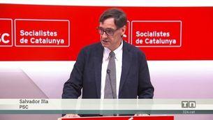 Els socialistes reconeixen que l'eix  prioritari és convèncer ERC per investir Sánchez